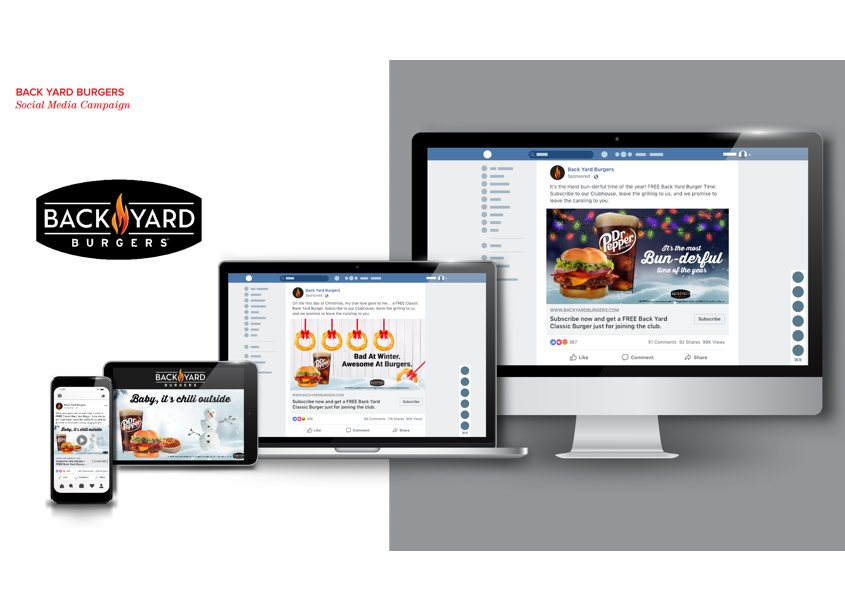 Backyard Burgers Social Campaign by Phase3 Marketing & Communications
