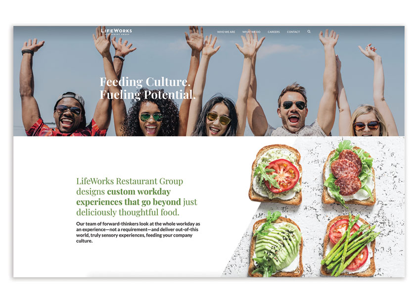 LifeWorks Website Redesign by Canary, a Gould Evans Studio