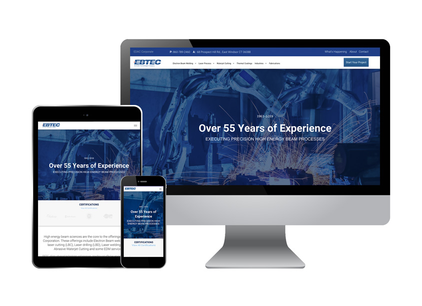 The Walker Group EBTEC Corporate Website