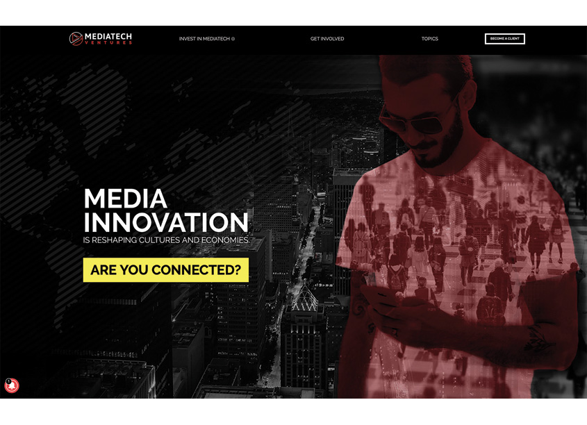 MediaTech Ventures Website by Gladiator Consulting