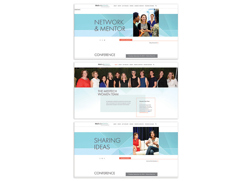 Schipper Design MedTech Women Website