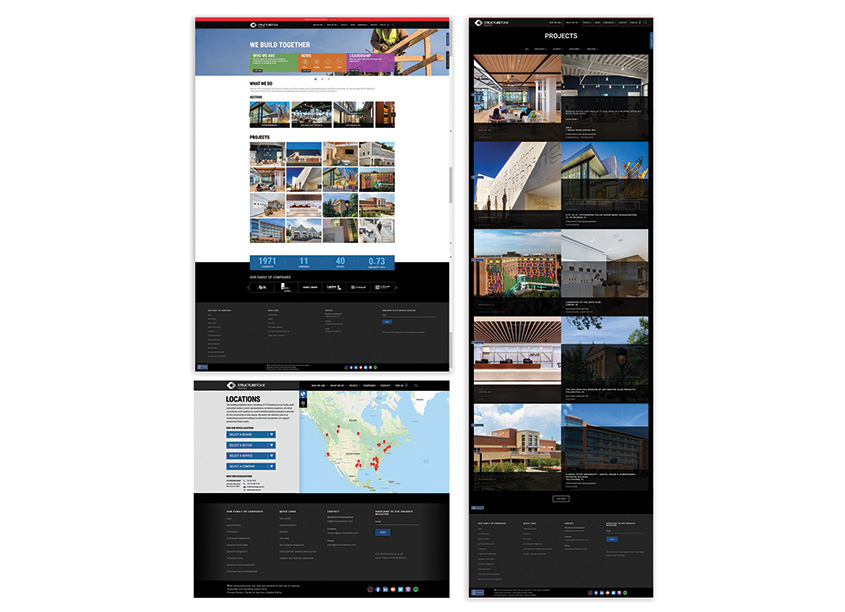 Structure Tone Organization & Multi-Media Solutions Website Enhancements