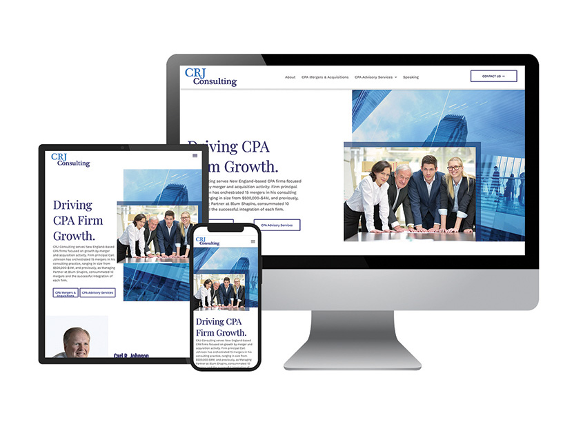 The Walker Group CRJ Consulting Website Design