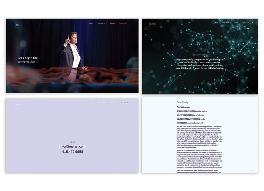 Mangold Design Emotive Website Design
