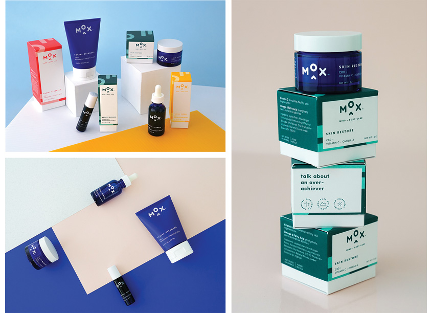Mox Mind+Body Care Brand Identity by BrandJuice