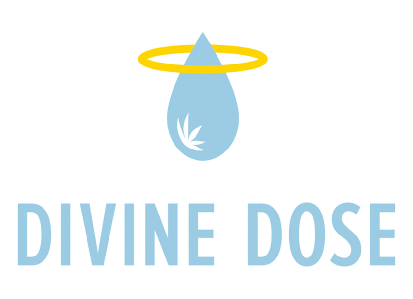 Divine Dose Logo by Nancy Reed Design