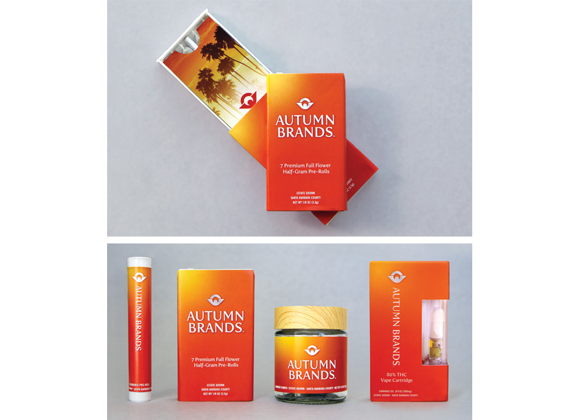 Autumn Brands Packaging by Gauger + Associates