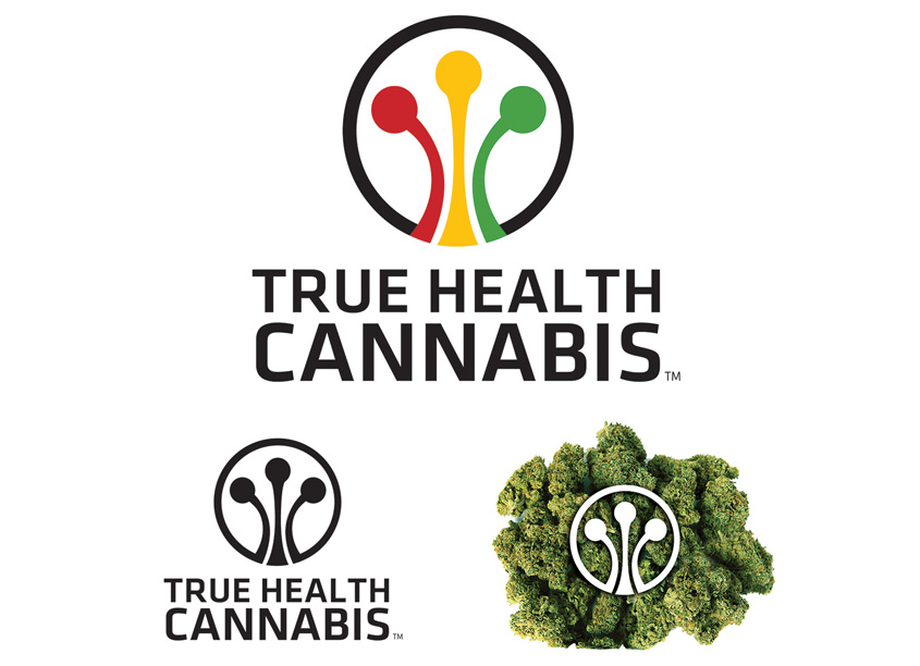 True Health Cannabis Logo Design by ID International