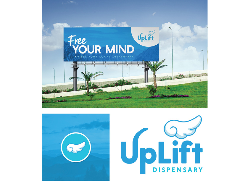 UpLift Dispensary Branding by RLD Creative