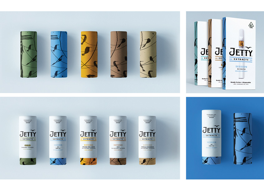 Jetty Extracts Core Line Packaging by MiresBall