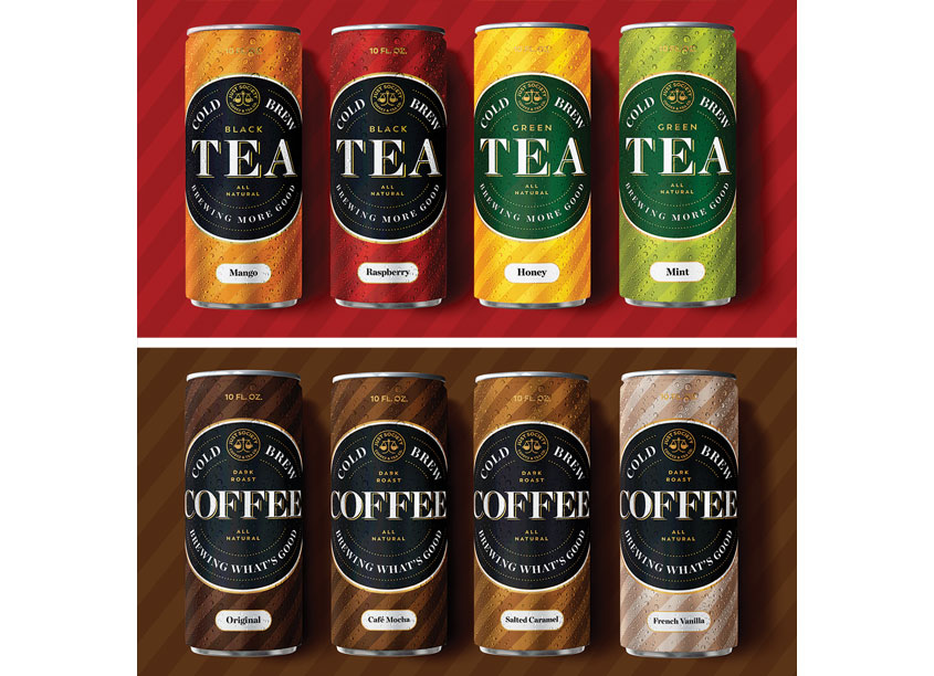 Just Society Coffee and Tea Packaging by MiresBall