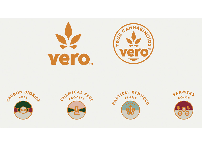 Vero Logo, Submark and Icons by BexBrands