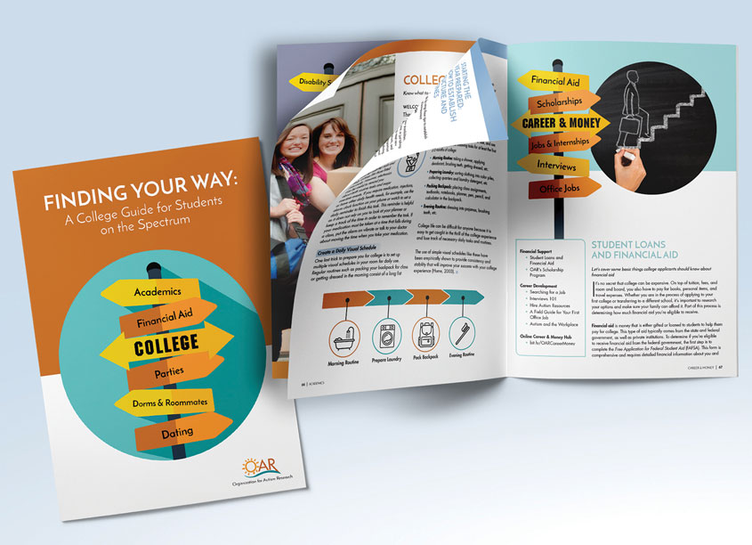 College Guide by Lisa Cain Design