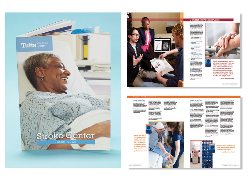 Stroke Patient Guide by Tufts Medical Center