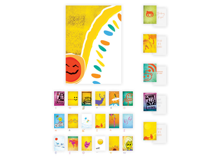 Design For Hope Initiative - Child Patient to Adult Greeting Card Set by Manughian Design