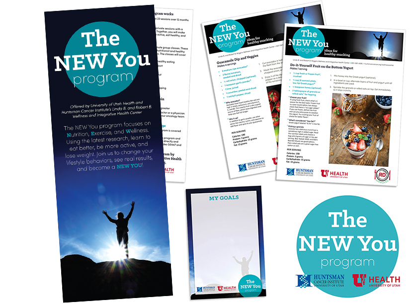 Huntsman Cancer Institute The NEW You Program Collateral