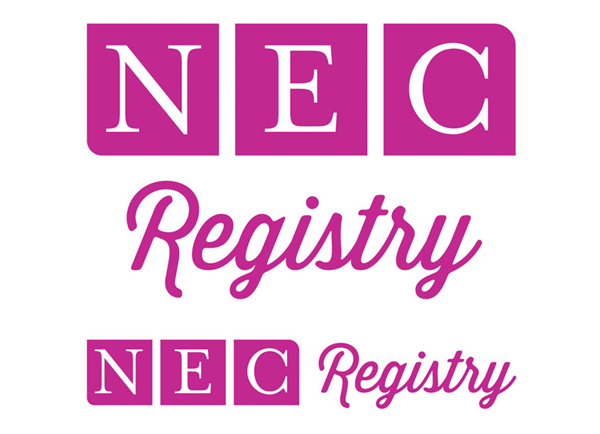 NEC Registry Logo by B-Design Graphic Design