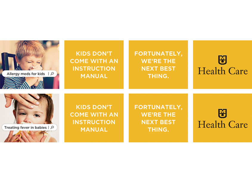 Pediatrics Campaign by MU Health Care