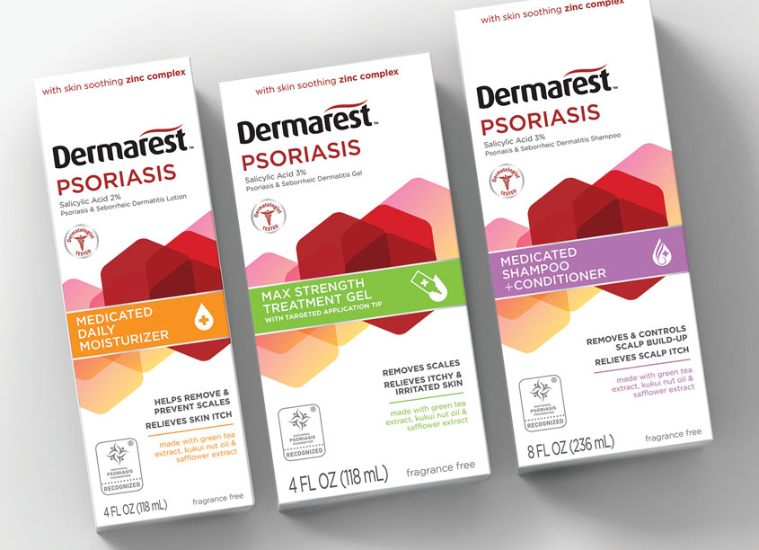 Dermarest Packaging by Smith Design