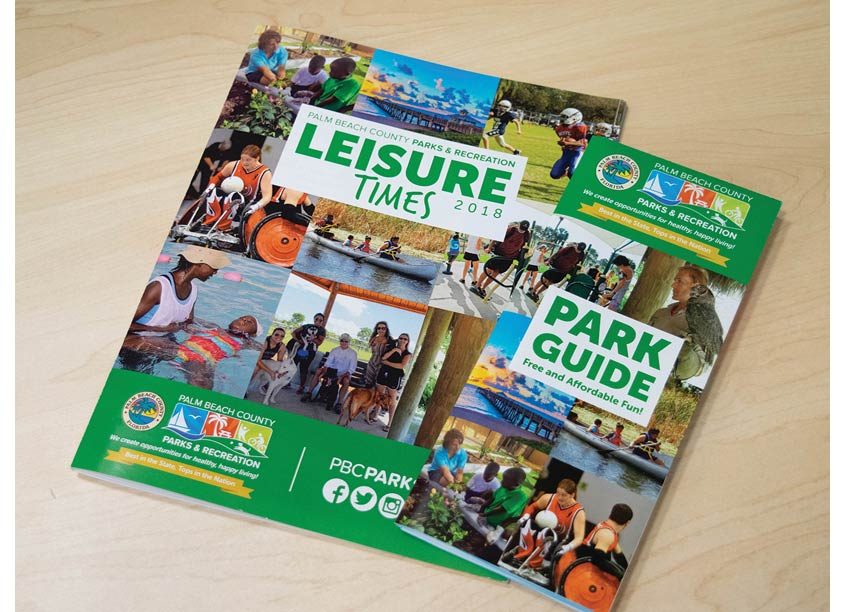 Palm Beach County Parks & Recreation Department Leisure Times and Park Guide