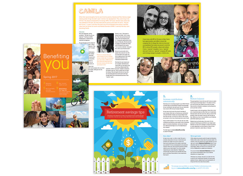 Spring 2017 Employee Newsletter by Robin Hume Design