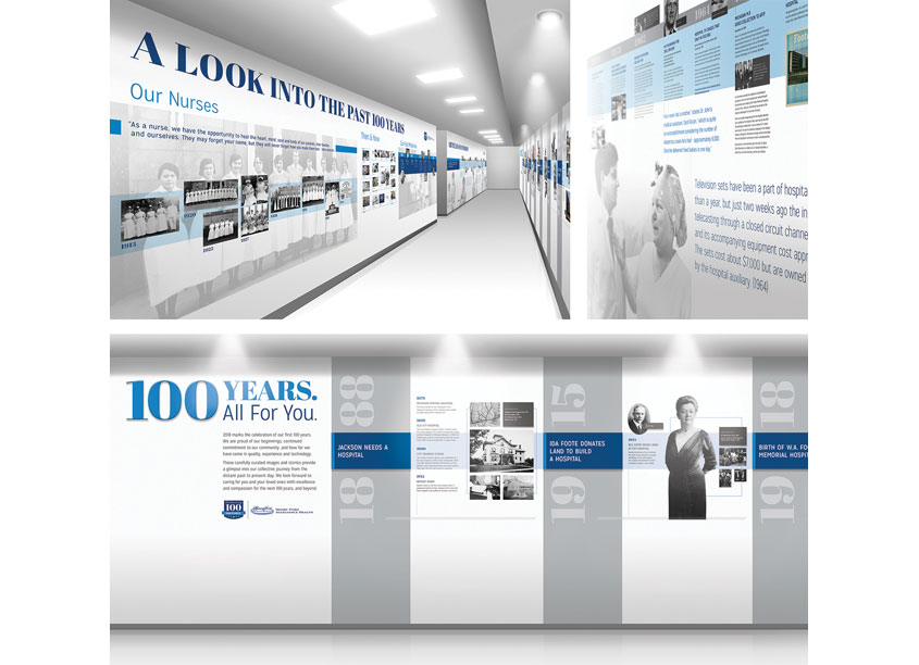 Christiansen Creative 100 Year Wall