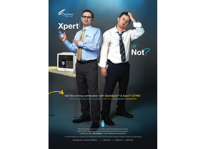 Cepheid Xpert or Not Advertisement