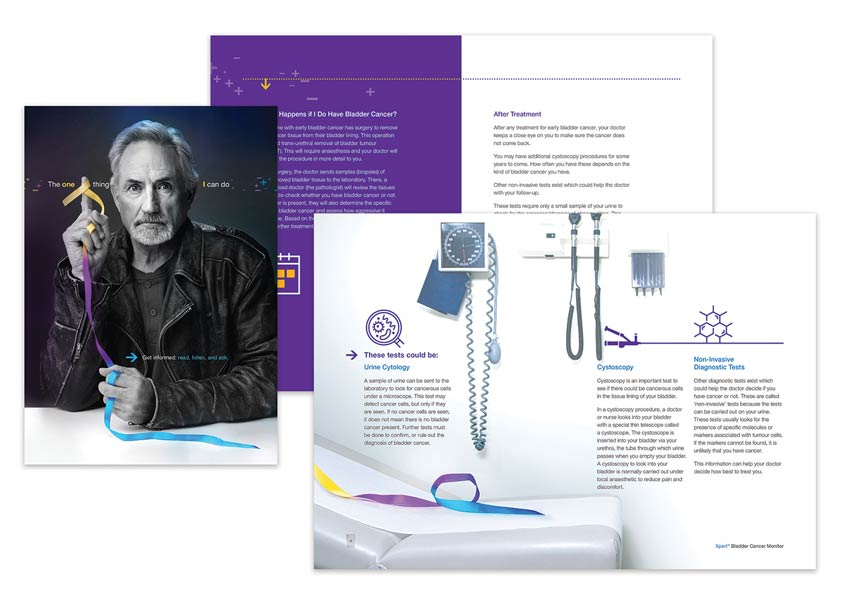 Cepheid One Thing Bladder Cancer Patient Brochure