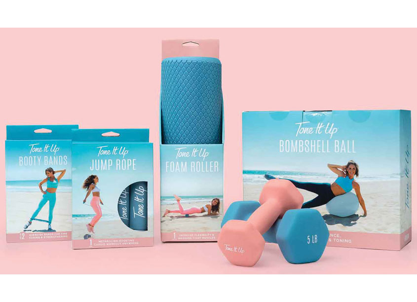 Tone It Up Package Design by Kick