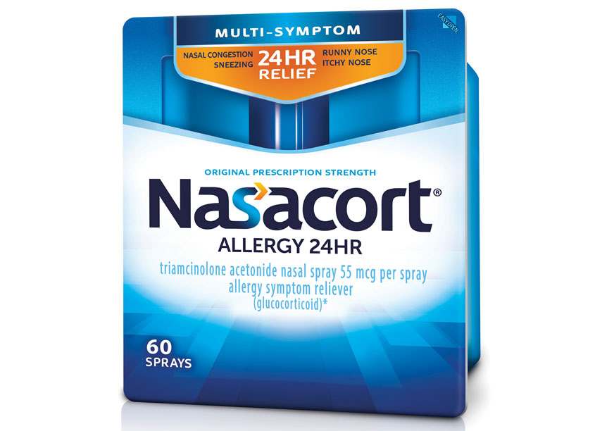 LAM Design Nasacort Allergy Package Design