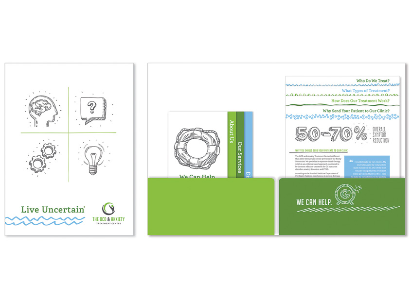 FUEL Marketing Branding and Identity Including Folder, Brochures and Inserts
