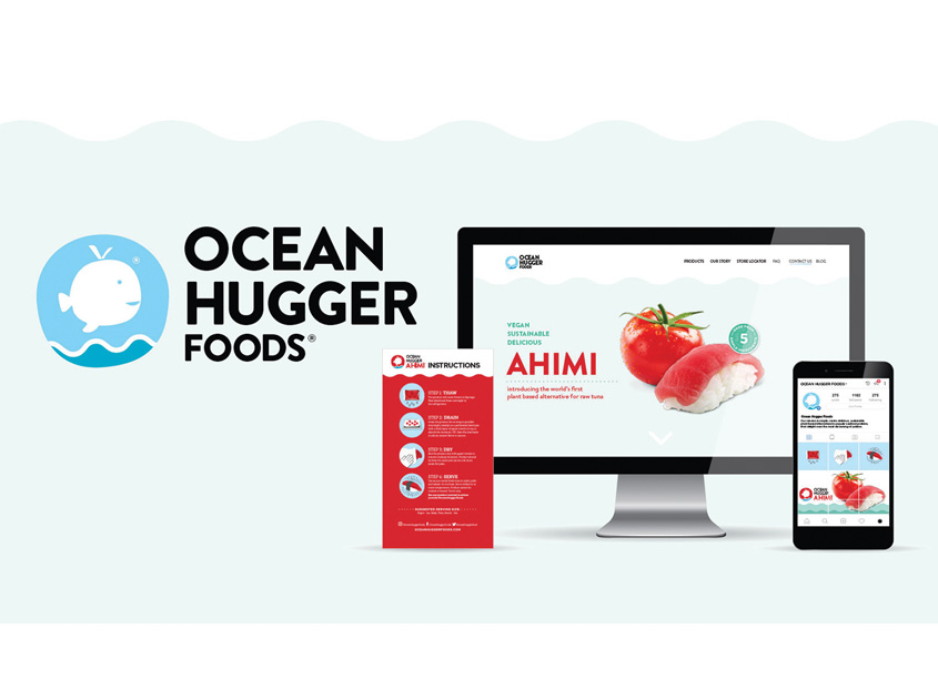 Smith Design Ocean Hugger Foods Branding