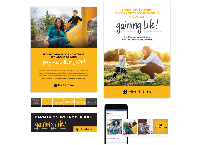 MU Health Care Creative Services Bariatrics Campaign