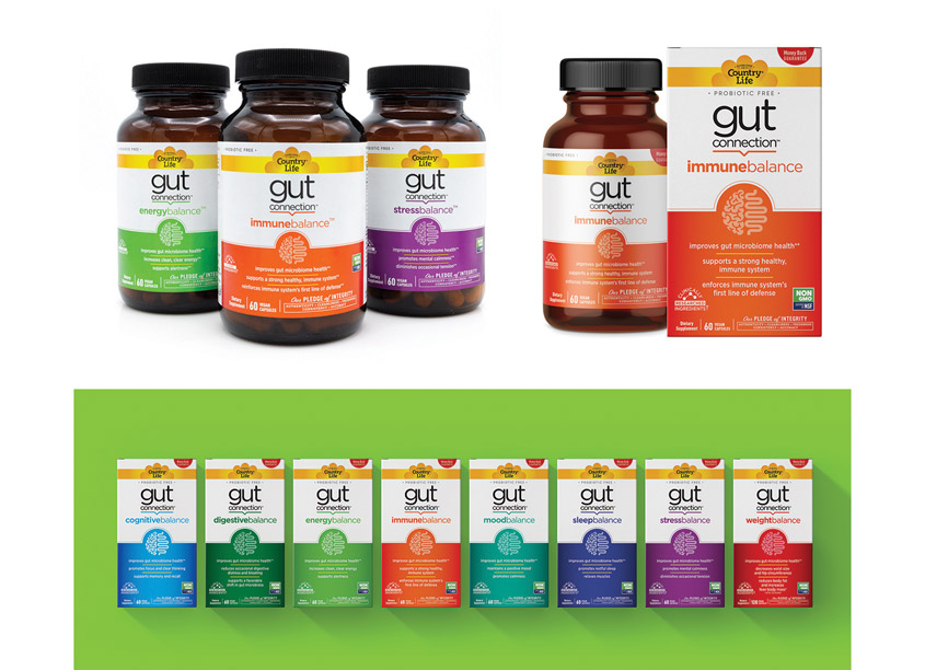 The Biondo Group Gut Connection Package Design