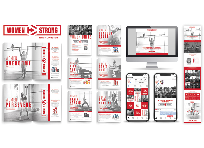 Andon Guenther Design, LLC Women Strong Campaign and Branding