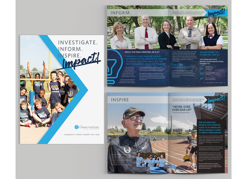 The Cooper Institute Community Impact Report - Investigate. Inform. Inspire. Impact!