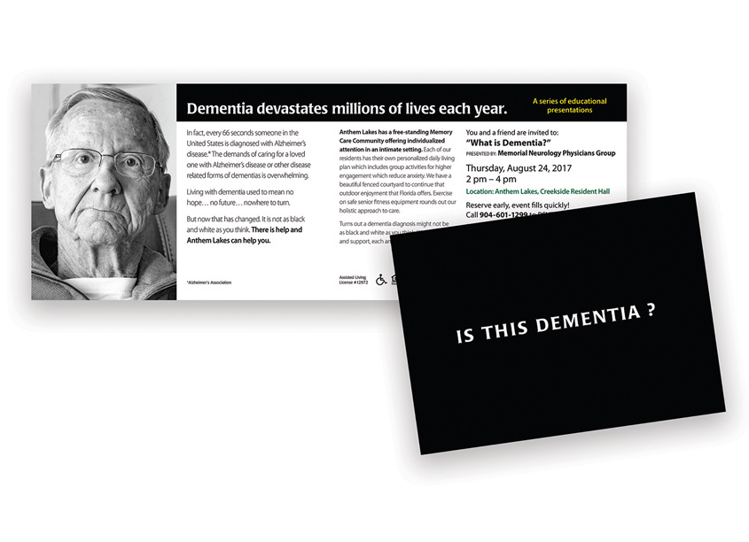 cfk creative Is This Dementia? Direct Mail