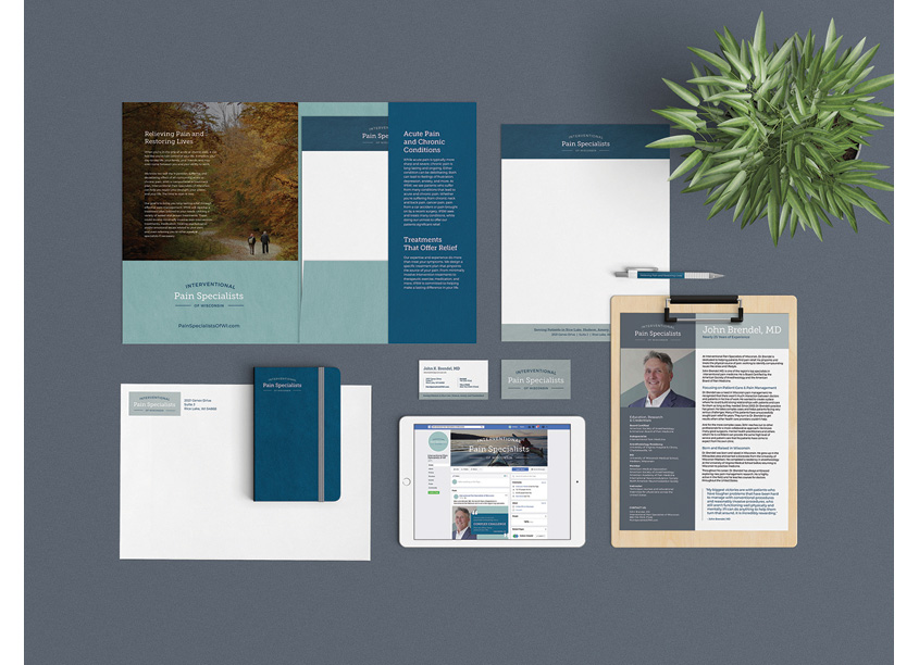Christiansen Creative Interventional Pain Specialists Branding