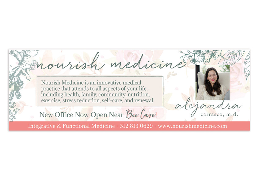 Best Version Media Nourish Medicine Advertising