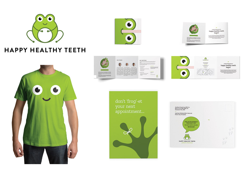 Test Monki Happy Healthy Teeth Brand Identity