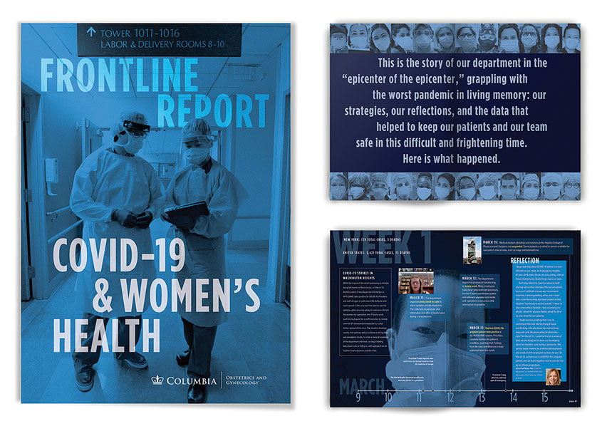hgDesign NYC Frontline Report: COVID-19 & Women's Health