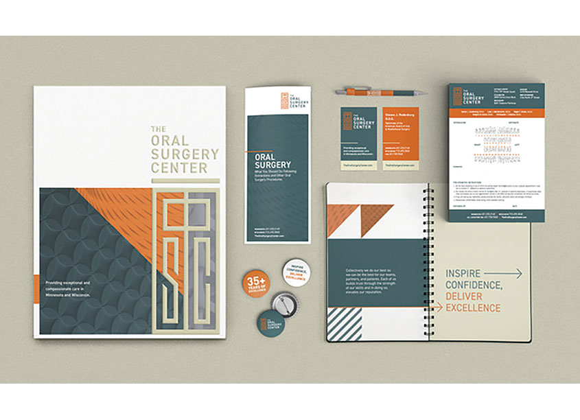 The Oral Surgery Center Branding by Christiansen Creative