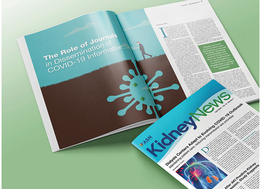Kidney News COVID Articles by Lisa Cain Design