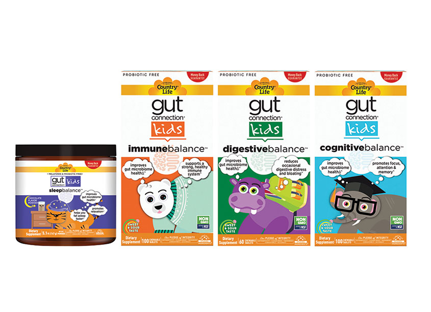 Gut Connection Kids Packaging by Country Life Vitamins