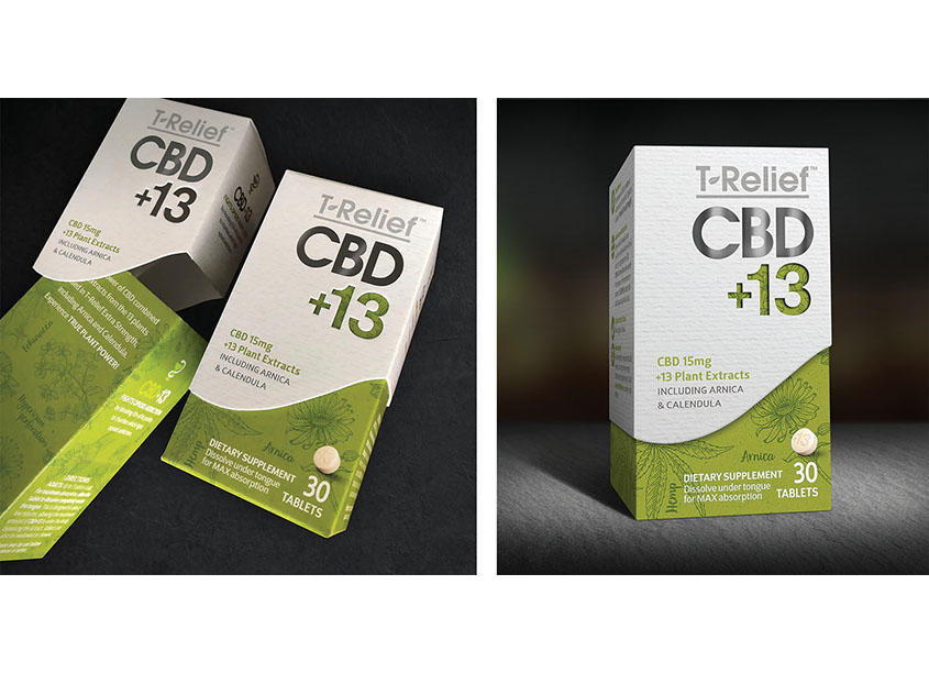 CBD-13 Package Design by Zack Group, LLC
