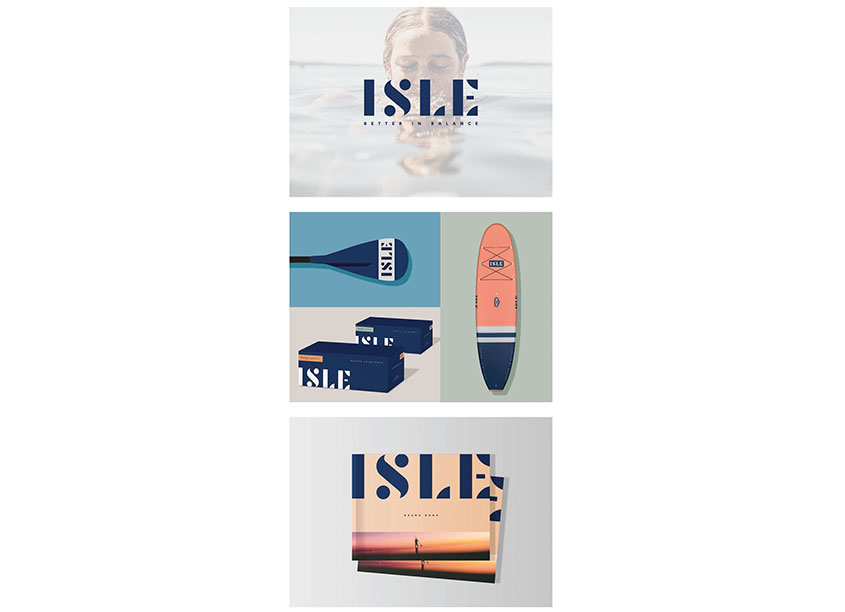 ISLE Branding and Identity by BLVR