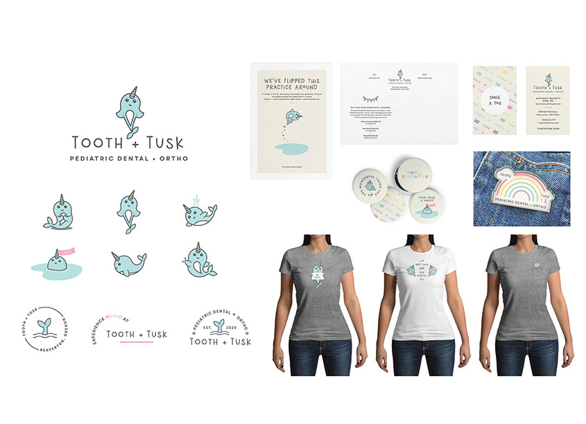 Tooth + Tusk Logo by Test Monki