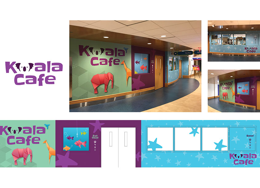 Garrison Hughes Koala Café Graphics and Branding
